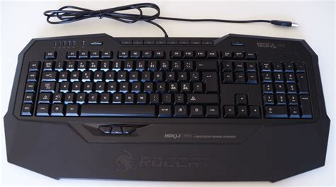 review of the roccat isku fx gaming keyboard