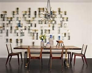 107 idees fantastiques pour une salle a manger moderne With salle À manger contemporaine avec deco murale nordique
