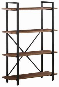 Pflugerville Furniture Center Industrial Style Bookcase