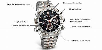 Diagram Citizen Grand Features Complication Signature Watches