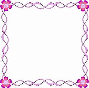 Frame Design Flower Clipart - ClipartXtras
