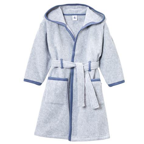 robe de chambre en polaire petit bateau robe de chambre en polaire bleu 20239