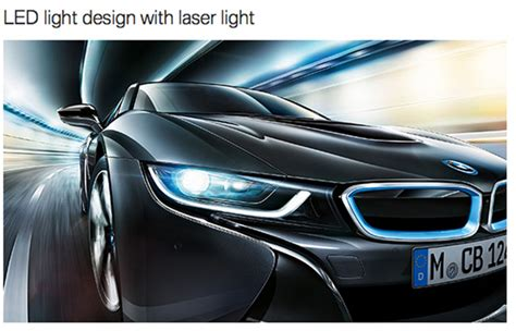 bmw i8 laser lights automotivedesignclub international laser light headls