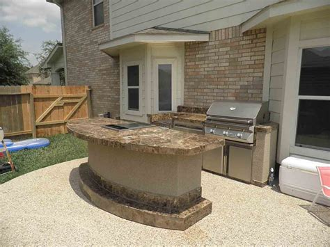 Outstanding Outdoor Kitchens Backyard Patio With