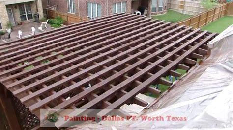 Deck Fort Worth Tx by Deck Staining Pergola Gazebo Decks Painting Dallas