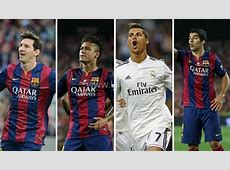 Messi, Cristiano Ronaldo and Neymar on final threeman
