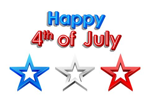 July 4th Clip Forth July Clipart Clipground