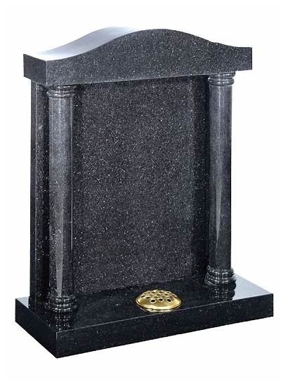 Granite Headstone Designs Canopy Headstones Column Engraving