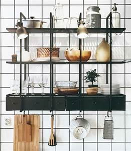 Ikea, Butcher, Block, Floating, Shelves, Ikea, Ka, Kken, Storage, In, 2018, Pinterest, Kitchen, Swedish
