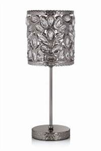 Table lamps bedside table lights next official site for Heart of house ariano crackle 5 light floor lamp