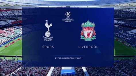 CPU Prediction - Tottenham Hotspur vs. Liverpool - UEFA ...