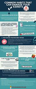 Infographic  Common Habits That Can Damage Your Kidneys
