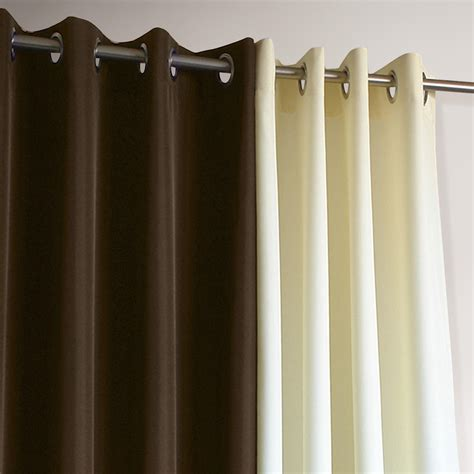 brown gazebo grommet top outdoor curtain world market