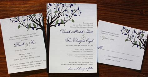 Eggplant Sage & Silver Love Birds in a Fall Tree Wedding