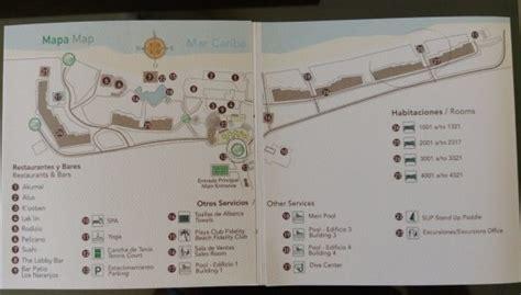 hotel map picture  akumal bay beach wellness resort tripadvisor
