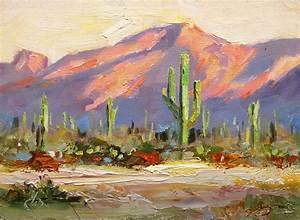 TOM BROWN FINE ART: SAGUARO CACTUS, DESERT, CAMELBACK ...