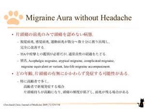 Migraine Aura without Headache