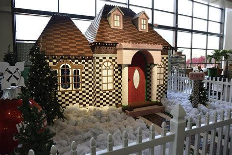 A house made of chocolate?