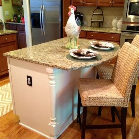 kitchen island makeover 20 awesome chalk paint furniture ideas diy ready