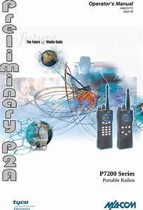Harris P7200 P7200 700  800 Mhz Portable Radio User Manual