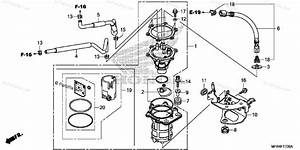 Honda Motorcycle 2010 Oem Parts Diagram For Fuel Pump