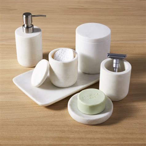 marble bath accessories cb