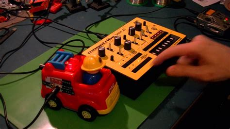 Circuit Bent Toy Fire Engine Freeform Delusion Youtube
