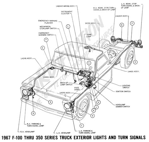 1993 Ford Ranger 4x4 Wiring Diagram by Ford Truck Technical Drawings And Schematics Section H