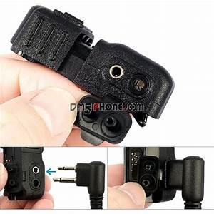 Earpiece Audio Adapter For Motorola Dp2400 Xir P6600