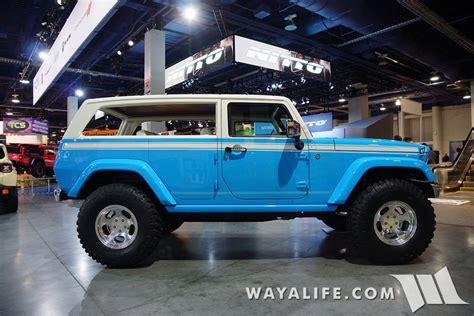 chief jeep concept 2015 sema mopar jeep chief concept