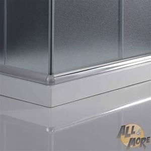 Cabine De Douche Verre Opaque : cabine de douche paroi 90x90 h200 cm verre opaque ~ Edinachiropracticcenter.com Idées de Décoration