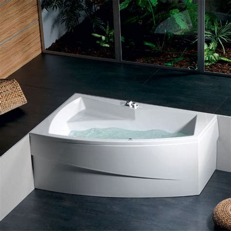 vasche da bagno angolari asimmetriche vasca angolare idromassaggio asimmetrica