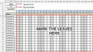 Productivity Tracker Excel Template Leave Tracker Template In Google Sheets Updated For 2020