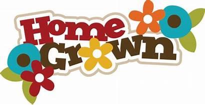 Garden Title Grown Svg Scrapbook Flower Flowers