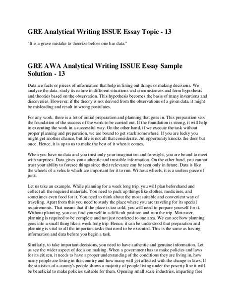gre issue essay template argument analysis essay exle journal entries discursiveessay web fc2