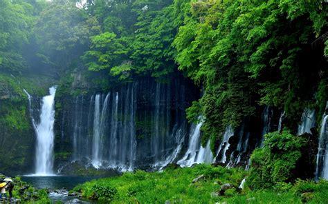 Waterfall Image by Wallpaper Shiraito Falls Waterfall Nature 3836