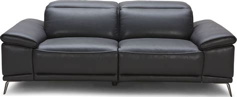 black leather reclining sofa giovani black leather power reclining sofa from jnm