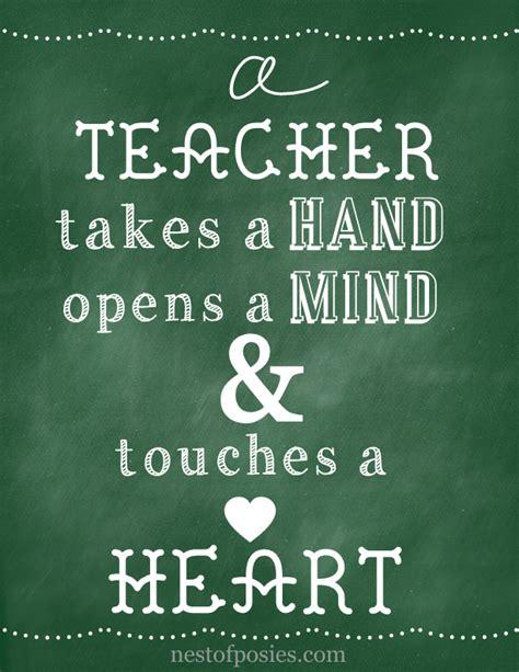 Teacher Chalkboard Quotes Sayings