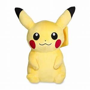 Pikachu Poké Plush jumbo size Pokémon Center Original