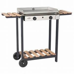Chariot Plancha Forge Adour : chariot forge adour en bois pour plancha mallorca 600 ~ Nature-et-papiers.com Idées de Décoration
