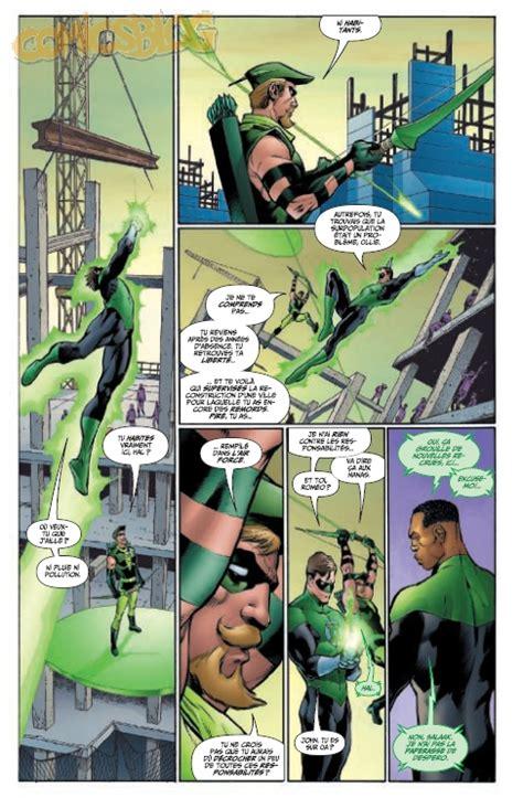 regarder green lantern 2 exclusif geoff johns pr 233 sente green lantern tome 2 la preview 233 tendue comicsblog fr