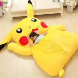 gotta catch all them zs on this adorable pikachu bed