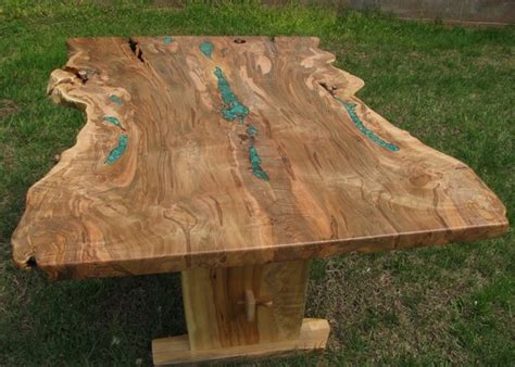 edge inlaid ambrosia maple dining table finewoodworking