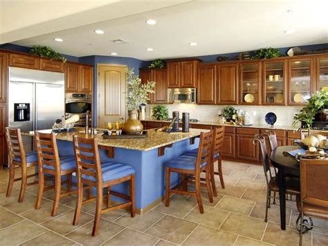 big kitchen island designs kitchen island breakfast bar pictures ideas from hgtv 4627