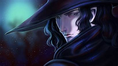 Anime Vampire Hunter Face Hat Wide Wallpapers