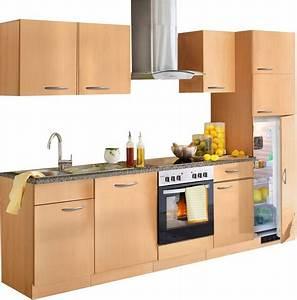 Küchenzeile 280 Cm : k chenzeile kiel breite 280 cm online kaufen otto ~ Frokenaadalensverden.com Haus und Dekorationen