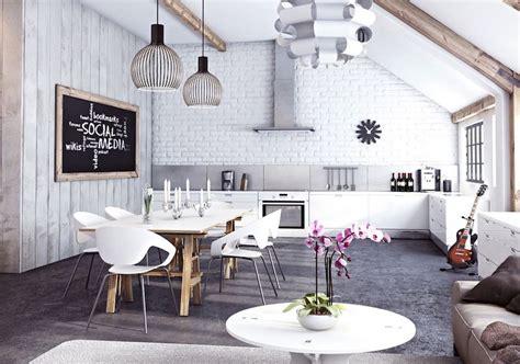 cuisine style cagne chic cuisine ouverte sur salon en 40 nouvelles idées du moderne