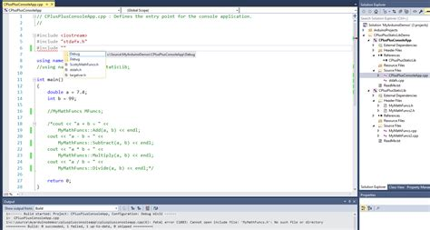 Console Application by Why Won T My Simple C Console App See My Simple C