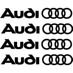 stickers autocollants etrier de frein audi