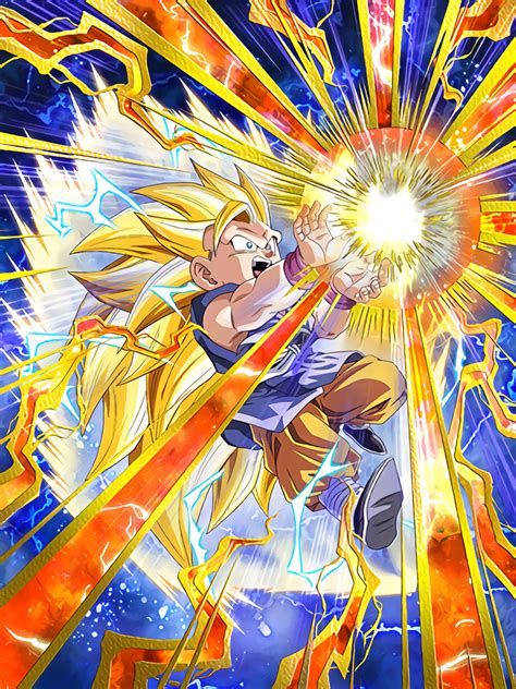 zealous offensive super saiyan  goku gt dragon ball